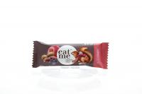 Батончик Eat me родзинки/яблуко/горіхи в чорн.шокол.30г х8
