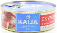 Скумбрія Kaija в томатному соусі 240г