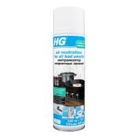 Засіб HG Нейтралізатор неприємн. запахів аерозольн. 400мл х6