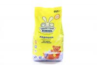 Порошок пральний Ушастий нянь для дитячої білізни 800г  х6