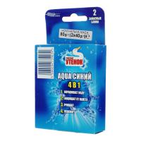 Освіжувач для унітаза Туалетный утенок Aqua син. зап. 2шт х6