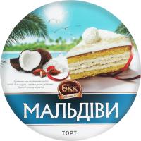 Торт БКК Мальдіви 450г х6
