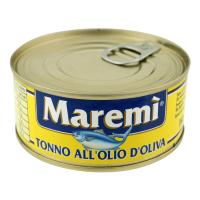 Тунець Maremi в олив. олії ж/б ключ 160г