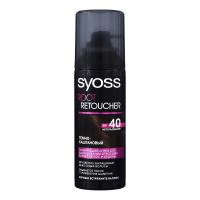Спрей тонуючий Syoss для волосся 120мл темно-каштановий