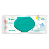 Дитячі серветки вологі гігієнічні Pampers Sensitive, 56 шт.