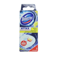 Засіб Domestos Attax Лимон стікер 3шт х6.