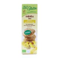 Печиво органічне Afdiag пісочне З лимон. та нас.чіа 150г