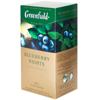 Чай Greenfield Blueberry Nights чорний 25*1,5г