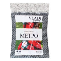 Плед Vladi Метро напіввовняний 140*200см