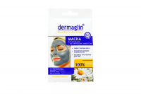 Маска Dermaglin живильна з матирующим ефектом 20г х6