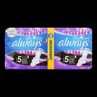 Гігієнічні прокладки Always Platinum Ultra Night, 10 шт.