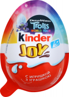 Цукерка Kinder Joy з іграшкою T24 20г
