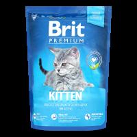 Корм Brit Premium Kitten д/кошенят з куркою 300г х12