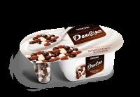 Йогурт Danone Даніссімо десертний з шоколадними кульками 8,3% 100г