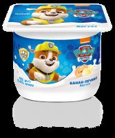 Йогурт Danone Банан-Печиво 2% 115г х12