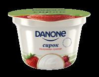 Сирок Danone полуниця-суниця 3.4% 170г