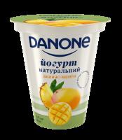 Йогурт Danon натуральний Ананас-Манго 2,5% 260г