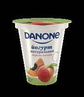 Йогурт Danone натуральний Персик-папайя 2,5% 260г