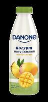Йогурт Danone натуральний Ананас-манго 1,5% 800г