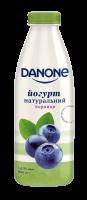 Йогурт Danone Чорниця 1,5% пляшка 800г