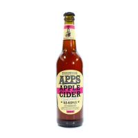 Сидр Apps Apple Яблучний Вишня солодкий газований 5-6.9% 0,5л с/б
