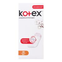 Щоденні гігієнічні прокладки Kotex Normal, 20 шт.