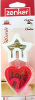 Форма Zenker для вирізання печива серце/зірка арт.43035