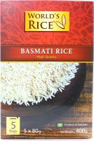Рис Бест Альтернатива Басматі в пакетиках 5*80г