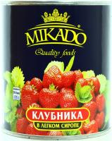 Клубника Mikado в сиропі 850мл
