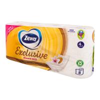 Туалетний папір Zewa Exclusive Almond Milk, 8 шт.