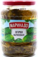 Огірки Маринадо мариновані 720мл