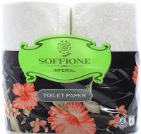 Туалетний папір Soffione Imperial Білий, 4 шт.