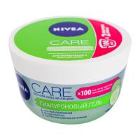 Гель гіалуроновий для нормальної та жирної шкіри обличчя Nivea Care Легкий Догляд, 100 мл