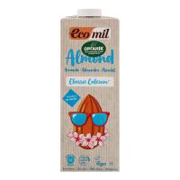 Молоко Ecomil орг. росл. з мигдалю класичне 1л х12