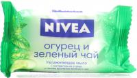 Мило тверде Nivea Зволоження Огірок і зелений чай, 90 г