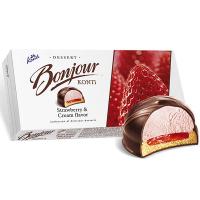 Десерт Konti Bonjour полуниця з вершками 232г