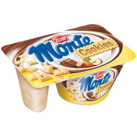 Десерт Zott Monte молоч. з шок. та ліс.гріхами +печиво 125г