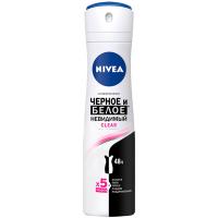 Дезодорант Nivea спрей антиперспирант Clear 150мл