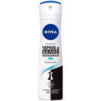 Дезодорант Nivea спрей антиперспирант Pure 150мл