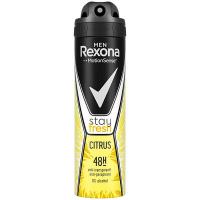 Дезодорант Rexona Men Цитрус спрей 150мл