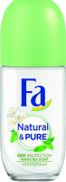 Дезодорант Fa Природна свіжість Білий чай 50мл