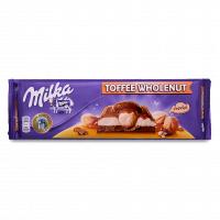Шоколад Milka з ліс.горіхами молочно-карамельний 300г