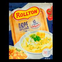 Пюре Rollton картопляне зі смаженою цибулею 40г х24