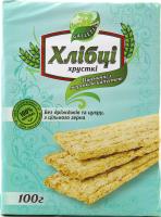 Хлібці Galleti Пшеничні з морськ.капуст. б/дріжд та цук 100г