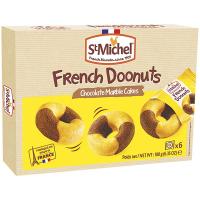 Донатси StMichel французькі шоколадно-мармурові 180г