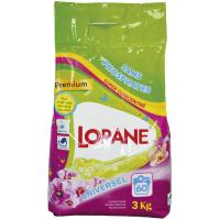 Пральний порошок концентрований безфосфатний Lorane Універсальний, 3 кг