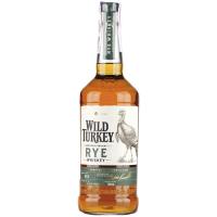 Віскі Wild Turkey Rye 40,5% 0,7л