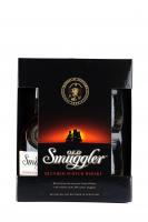 Віскі Old Smuggler 40% 0,7л +келихи 2шт. х6