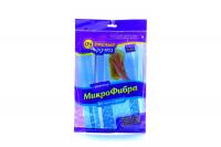 Серветка Очумелые ручки з мікроф д/вікон та дзер.35*35см х6
