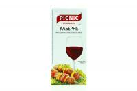 Вино Picnic Каберне червоне сухе 1л B&B х6